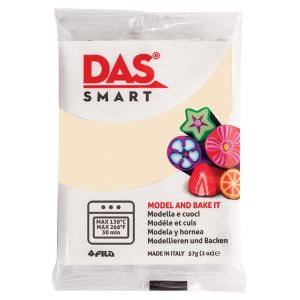 DAS 321002 Smart Oven-Bake Clay 57g (2x 28.5g) Vanilla
