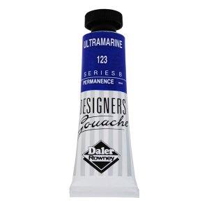 Daler-Rowney 136005123 Designers' Gouache Paint 15ml Ultramarine