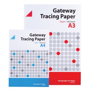Gateway Tracing Paper Pad 90gsm A4 100 Sheets