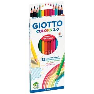 Giotto 276600 Elios Hexagonal Pencils - Pack of 12