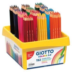 Giotto Coloring Pencils 192 Pieces Pot