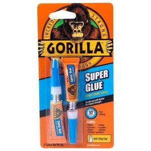 Gorilla Glue 4044101 Superglue 2 x 3 g