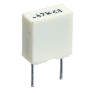 Kemet R82DC3470AA60K 470nf 10% 63V 5mm Polyester Box Capacitor