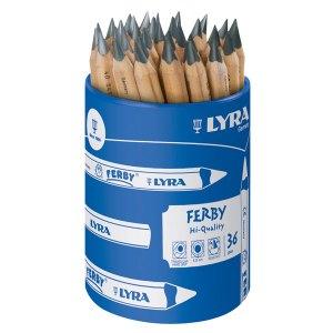 Lyra 1813360 Ferby Graphite Pencils Pot 36