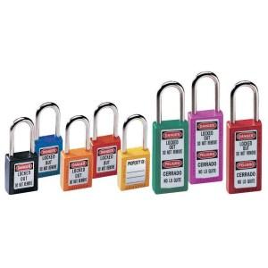 Master Lock 411 76mm Zenex Safety Lockout Padlock - Red