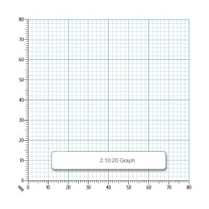 Rapid A4 Graph Paper 2:10:20mm Unpunched 90gsm 500 Sheets