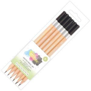 Rapid Economy Wallet of 6 Sketching Pencils