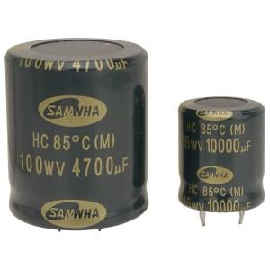 Samwha HC1H109M35035HA 10000uf 50V 85deg Hc Snap-in Capacitor