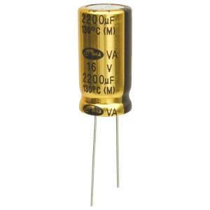 Samwha VA1C228M12025* 2200uf 16V 130deg Low Imp Capacitor