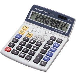 Sharp Desktop Calculator EL-2125 C