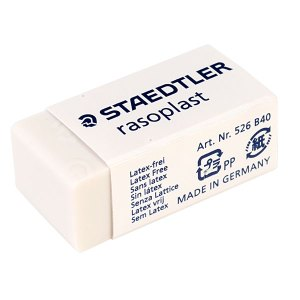 Staedtler 526 B40 Raso Plast Pencil Eraser Single