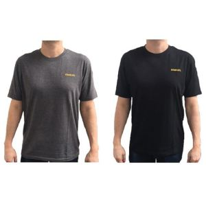 Stanley Clothing T-Shirt Twin Pack Grey & Black - L