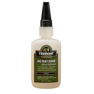 Titebond 6221 Instant CA Glue - Thick 56.8g(2oz)
