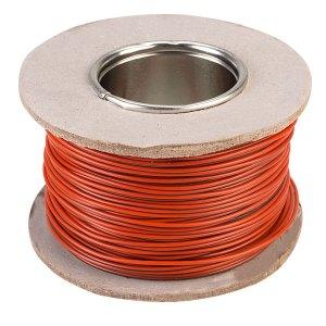 Rapid Equipment Wire 16/0.2mm Orange/Black 100m