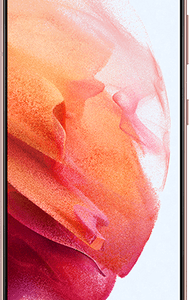 Samsung Galaxy S21 5G 256GB Phantom Pink at £79 on Red (24 Month contract) with Unlimited mins & texts; 50GB of 5G data. £43 a month.