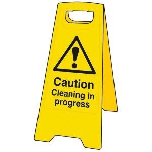 Scan 4703 Heavy-Duty 'A' Board: Caution Cleaning In Progress
