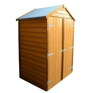 Shire Overlap Garden Shed (4' x 3')