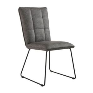 Urban Classic Panel Back Dining Chair Grey