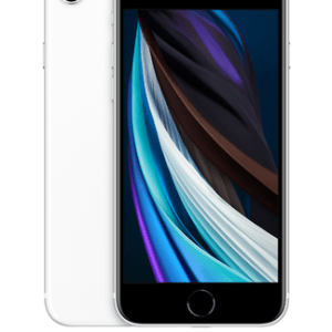 Apple iPhone SE (2020) (64GB White) at £29 on Pay Monthly 6GB + 2 Xtra Benefits + Entertainment (36 Month contract) with Unlimited mins & texts; 6GB of 5G data. £35 a month.