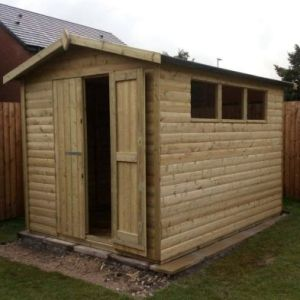 Garden Storage Shed 10x8 with Apex Roof