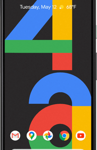 Google Pixel 4a 5G (128GB Just Black) at £19 on Pay Monthly Unlimited Max + 2 Xtra Benefits + Entertainment (36 Month contract) with Unlimited mins & texts; Unlimited 5G data. £54 a month.