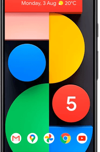 Google Pixel 5 5G (128GB Just Black) at £29 on Pay Monthly 6GB + 3 Xtra Benefits + Entertainment (36 Month contract) with Unlimited mins & texts; 6GB of 5G data. £42 a month.