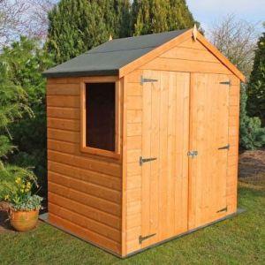 Shire Bute Shiplap Garden Shed 4' x 6'