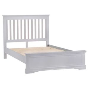 Swafield Double Bed Grey & Pine