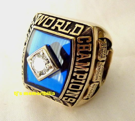1969 NEW YORK METS WORLD SERIES CHAMPIONSHIP RING