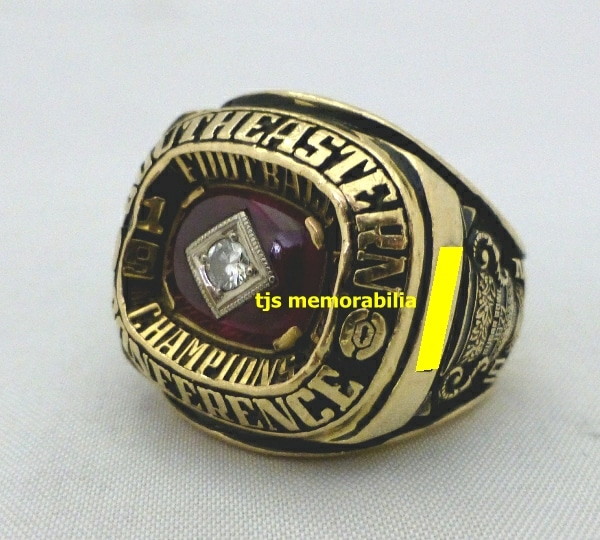 1976 GEORGIA BULLDOGS SEC CHAMPIONSHIP RING