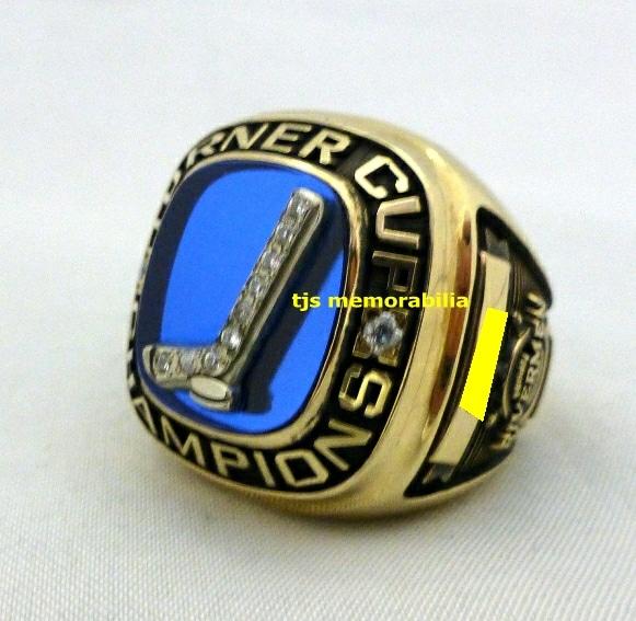 1991 PEORIA RIVERMEN IHL TURNER CUP CHAMPIONSHIP RING
