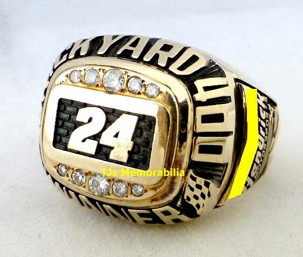 1998 BRICKYARD 400 WINNERS CHAMPIONSHIP RING