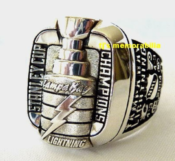 2004 TAMPA BAY LIGHTNING STANLEY CUP CHAMPIONSHIP RING – STAFFER