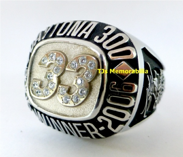 2006 DAYTONA 300 BACK TO BACK WINNERS CHAMPIONSHIP RING