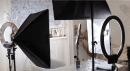 Beauty vlogger Tasya Farasya studio