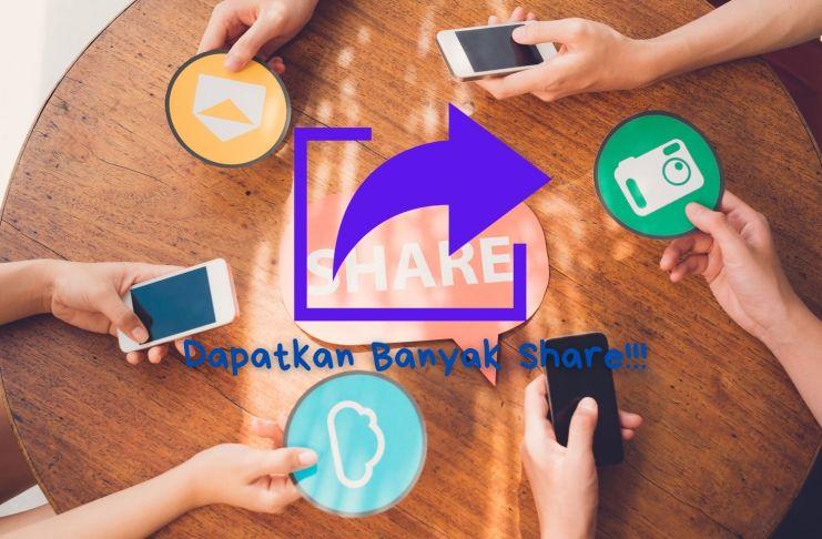 cara meningkatkan share Facebook