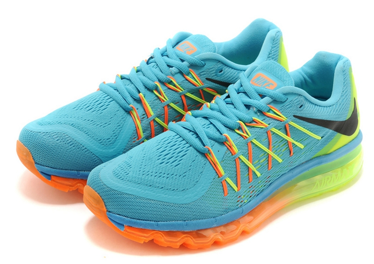 low priced 8a7f6 73dcc AIR MAX LIGHT BLUE FLUORESCENT YELLOW GREEN ORANGE ...