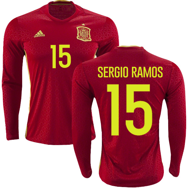 check out 3421d 5e193 SPAIN 2018 WORLD CUP HOME MEN SOCCER JERSEY - Buy best