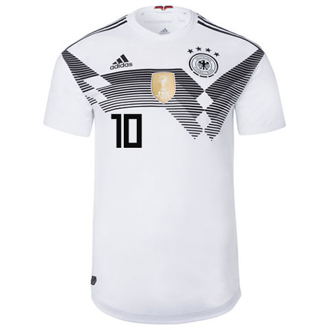 the latest e4af7 e3ed4 WORLD CUP 2018 GERMANY MESUT OZIL 10 JERSEY, FIFA WORLD CUP 2018 GERMANY  HOME JERSEY - Buy best