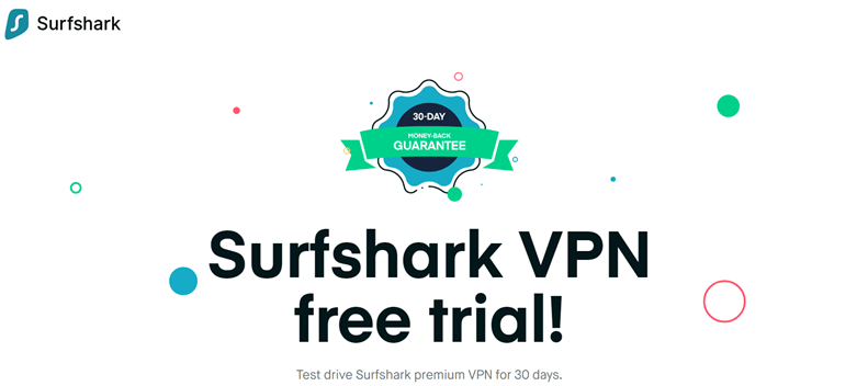 surfshark free trial review