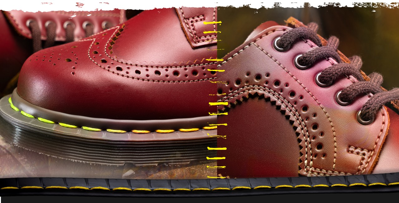 Dr Martens Made in England Collection Footer