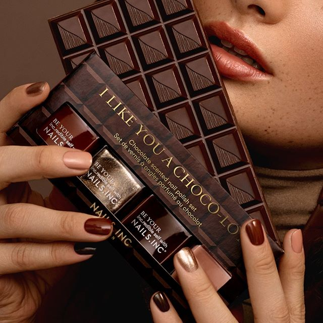 Nails Inc £10 Off - Chocolate Banner