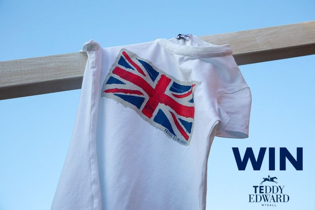 Teddy Edward T-Shirt - Win Buy British Competition