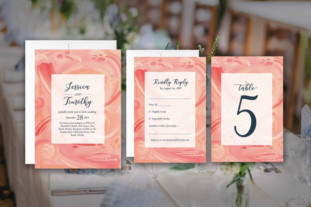 Etsy Invitation Suites | Wedding Invitations