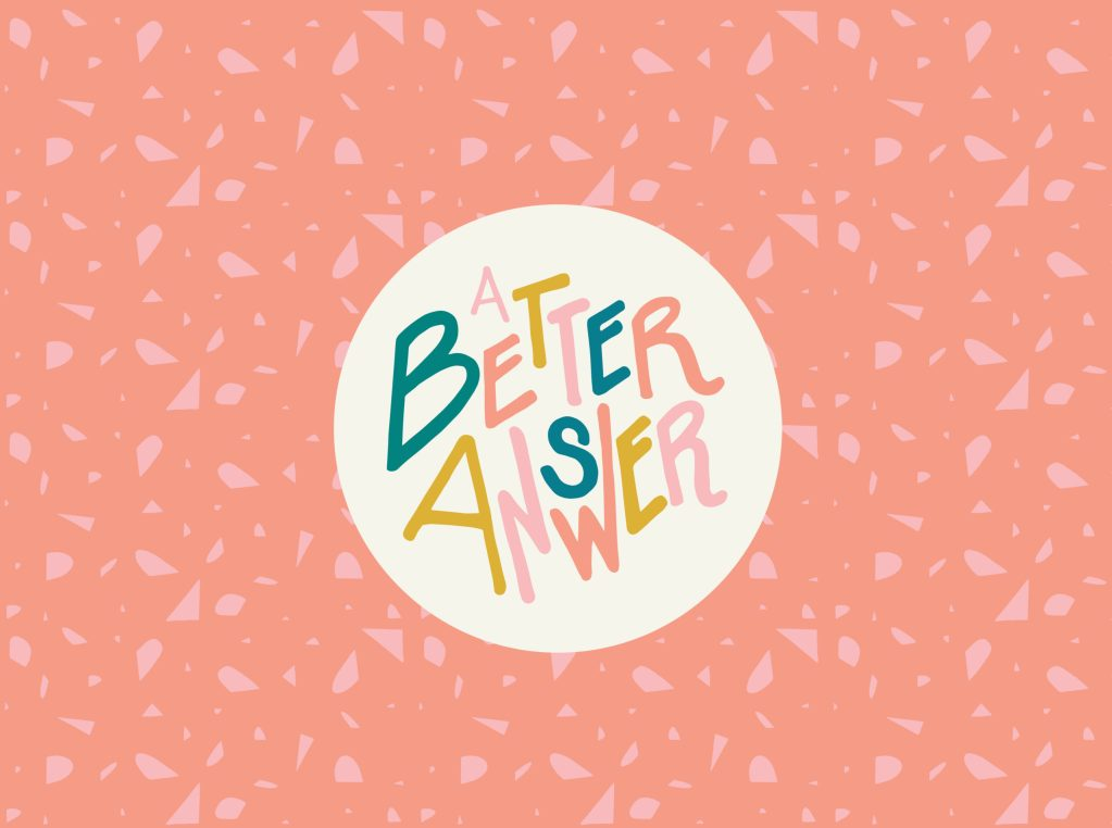 A Better Answer | Logo & Branding
