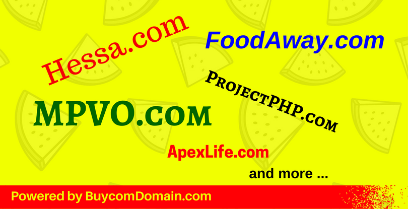Auctioned Expiring Domain Pick 2017-09-02