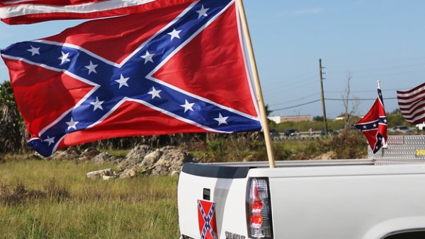 Confederate Truck flag