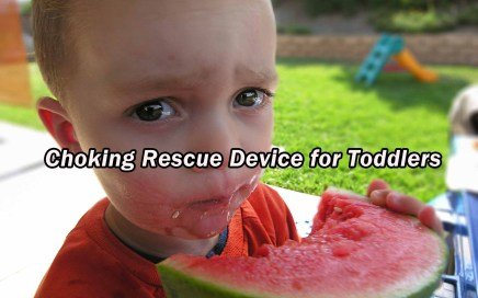 Choking Rescue Device for Toddlers