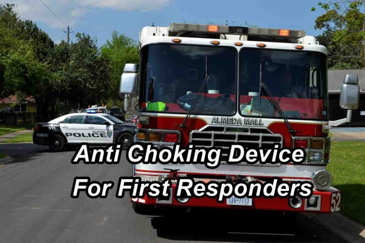 Anti Choking Device For First Responders