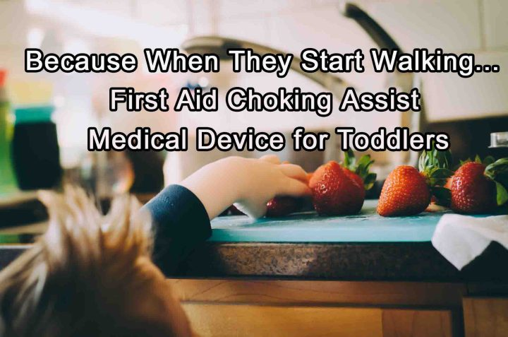 First Aid Choking Assist Medical Device for Toddlers
